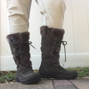 BareTraps DORY Faux Fur Lined Boots size 8.5M